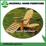 Jogo ao ar livre da mobília da madeira contínua