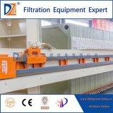 Vollautomatische vertiefte Filterpresse für Abwasser