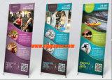 Étalage de stand de la publicité d'intérieur et extérieure X