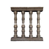 Stone naturale Red Granite Balustrade/Baluster con Railing Handrail