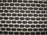 Tela gruesa de Jersey de la aguja de la cuerda de rosca de plata polivinílica