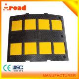 低い工場価格の黒くおよび黄色のゴム製速度の振幅制限器