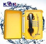 Telefone à prova de intempéries resistente/telefone industrial impermeável telefone Railway