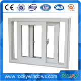 Windows deslizante pequeno barato, PVC industrial Windows deslizante, vidro de deslizamento Windows do PVC