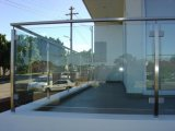 Modern Design Pátio Estrutural Glass Railing / Glass Balustrade Systems para o exterior