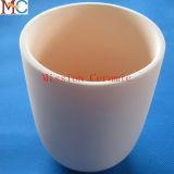 Crogiolo di ceramica dell'allumina di qualità di cena