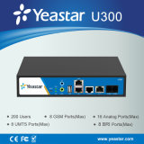 Asterisco PBX com E1/T1/J1 Ports e FXS Ports Supported 300 User VoIP Telephony PBX System