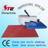 최신 Selling Shaking Head Heat Transfer Machine 40*50cm Corea Swing Away Head Heat Press Machine Hot Foil Stamping Machine