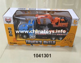 Пластичные игрушки автомобиля RC, тележка контейнера дистанционного управления 4 CH (1041304)