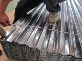 Lamina di metallo ondulata galvanizzata del tetto della lamiera sottile del acciaio al carbonio
