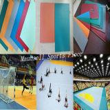 Étage chaud de handball de roulement de PVC de la vente bon marché 2017