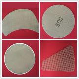 La filtración de alta Disco Tasa de filtración para tratamiento de agua o de aceite