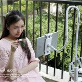 Roche flexible de Stander de tablette de support de bride de bras bâti paresseux de 360 gens de degré support de bureau de long