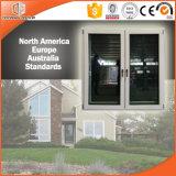 이탈리아 Chiari 클라이언트 알루미늄 입히는 단단한 오크재 여닫이 창 Windows