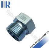 Connecteur hydraulique de tube d'adapteur de prise hydraulique masculine métrique (4D)