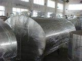 Type instantané réservoir de refroidissement de lait de l'acier inoxydable 4000L