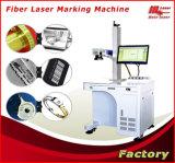 Máquina portátil da marcação do laser da fibra para a cor da cópia no aço
