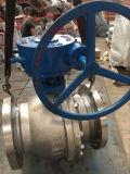 """Válvula de bola de muñón Class300 CF8m de engranaje (Q347W-300LB-12 """")"""