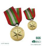 Medalla militar de encargo superior China del precio de fábrica de la venta
