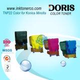 Cartucho de toner compatible del color Tnp22 para Konica Minolta Bizhub C35/C35p