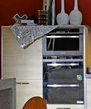 De moderne Vervaardiging van de Keukenkast van de Raad van de Melamine van de Stijl (zg-023)