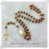 Rosari dei branelli di vetro, branelli religiosi del rosario, rosario di modo (IO-cr387)