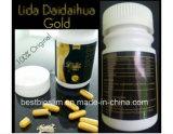 Lida Gewicht-Verlust kapselt das Gold ein, das Pille-Eigenmarken-Pillen abnimmt