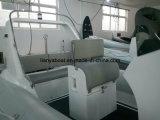 Bateau rigide neuf de bateau de côte de fibre de verre de Liya 5.2m à vendre