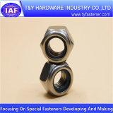 Noix d'acier inoxydable de la qualité DIN934 DIN6923