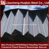 Hierro de ángulo de acero ligero galvanizado con técnica de rodillo caliente