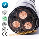 6/10 (11) de quilovolts, PVC 3X300mm2 Power Cable do Swa do Al XLPE