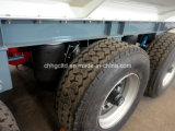 Saleのための50m3 Steel Liquid Fuel Transport Tank Tractor Trailer