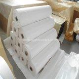 Tissu plat tissé par pp enduit blanc en vente