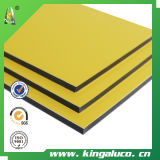 Vrais PVDF Coating Aluminum Composite Panel Without Color Se fanent-Away pour 20 Years