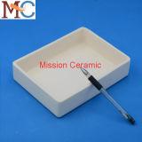Bateau en céramique /Crucible de l'alumine C799 résistante abrasive de température élevée