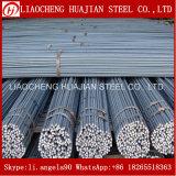 건축을%s HRB335 HRB400 HRB500 급료에 의하여 모양없이 하는 강철 Rebar