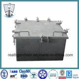 Cubierta impermeable marina de acero de la jaula de los accesorios de la cubierta