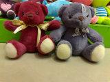 고품질 관례에 의하여 채워지는 장난감 곰 연약한 동물성 견면 벨벳 장난감