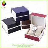 Lujo de la marca Bulova rígido rayado de embalaje caja de reloj