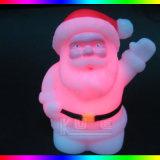 Kleur die de Lichte LEIDENE van de Nacht van Kerstman Gift van Kerstmis veranderen