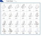 Europa Tamaño común Asiento de inodoro PP Slimed Diseño D Forma