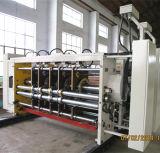 Wellpappen-Drucken, das stempelschneidene Maschine kerbt