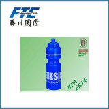 Bottiglia di acqua bevente di plastica di marchio su ordinazione