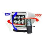 7inch 30Wの無線リモート360程度回転LEDの検索ライト