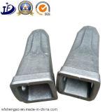 Dents en acier de position de pièce forgéee de l'approvisionnement Custom/OEM de la Chine pour l'excavatrice