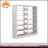 Popular 6 Layers School Library Furniture Preço mais baixo Durable Steel Double Layer Book Shelf