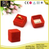 OEM Color Factory Direct Offer Velvet Ring Box (8034R30)
