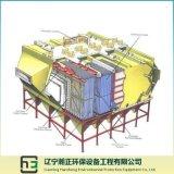 Staub, der Herstellen-Breiten Platz des seitlichen elektrostatischen Sammlers montiert