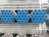 Труба горячего DIP гальванизированная стальная с крышками продетого нитку конца и пластмассы
