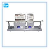1200c MOS2/Ws Vorbereitungs-Doppelwärmeschrank Rtp schneller Heizungs-Gefäß-Ofen